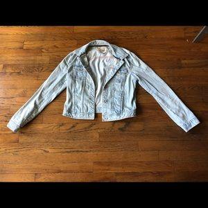 Zara Jean jacket size usa L (runs small)